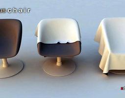 3d chair 3 single