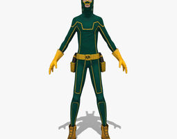 Green Warior 3D Model