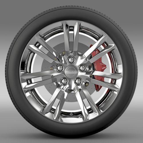 Chrysler 300C 2015 wheel3D model