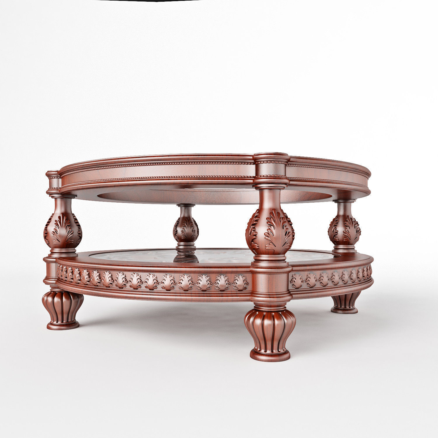 round round coffee table 3d cgtrader