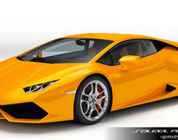 Lamborghini Huracan LP 610-4 2015 3D Model