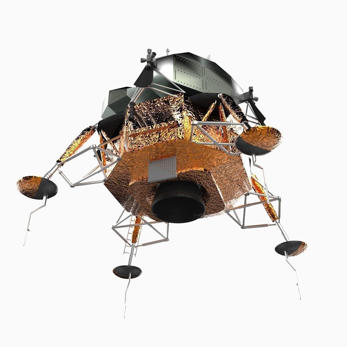 Apollo Lunar Module spacecraft 3D Model .max .obj .3ds ...