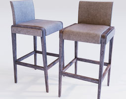 3D Bar stool Pedrali jil
