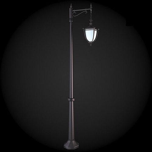 street light 3d model max obj mtl fbx 1