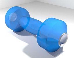 Exercise Equipment Water Dumbell 3D model