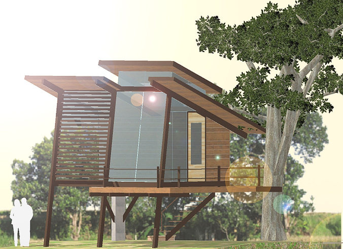 tree concept - 02 3d model skp 1