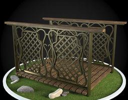 Bridge 3D model ages