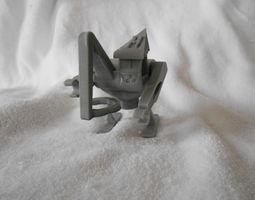 3d printable model mecapsuleur au ski