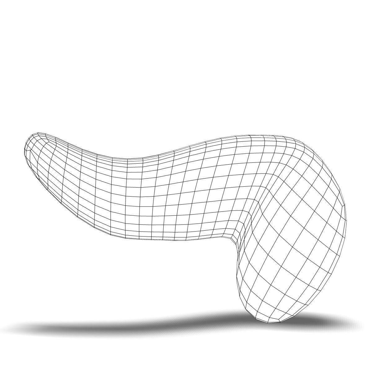 Human Pancreas Anatomy 3d Body Cgtrader Bicycle Diagram Model