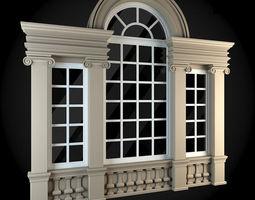 3D model apartment Window
