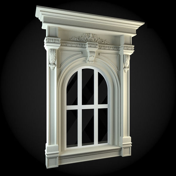 Window 071 3d model obj for Window 3d model