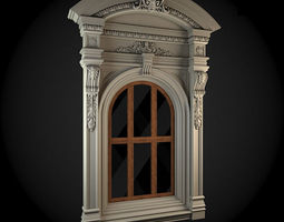 residential-building 3D Window