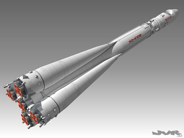 vostok 1 space rocket 3d model max obj 3ds fbx mtl pdf 1