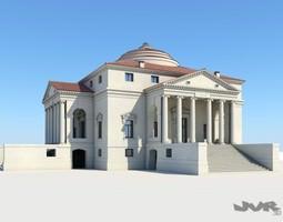 3d model villa capra - la rotonda