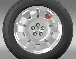 Fiat Doblo Work wheel 2015 3D Model