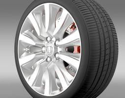 Honda Legend Hybrid wheel 2015 3D Model