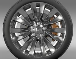 Honda Legend wheel 2015 3D Model