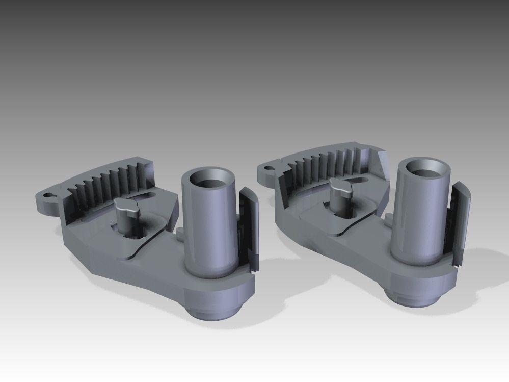 Car Door Lock Part 3d Model 3d Printable Stl Cgtrader Com