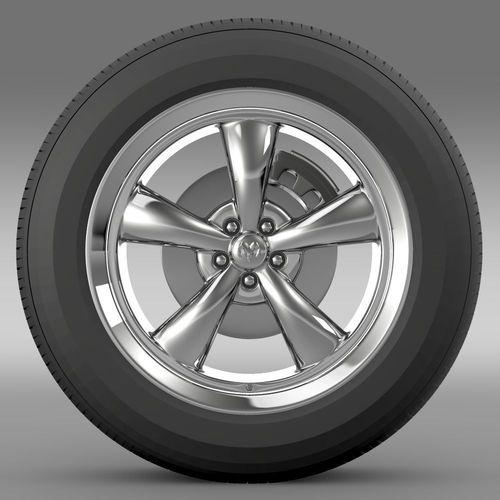 Mopar Dodge Challenger wheel3D model