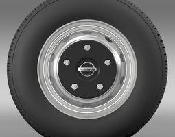 Nissan Cabstar wheel 3D Model