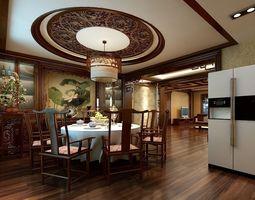 3d chinese restaurant 09