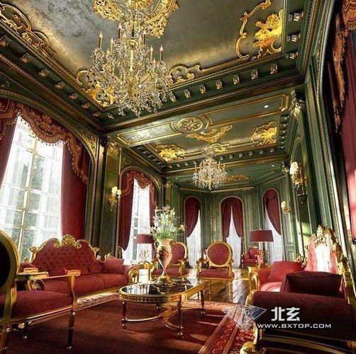 architectural interior 3d model max 1