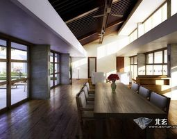 3D Architectural Interior3