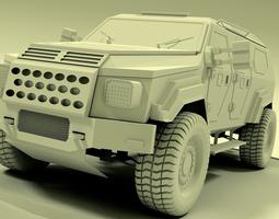 3d gurkha armoured vehicle