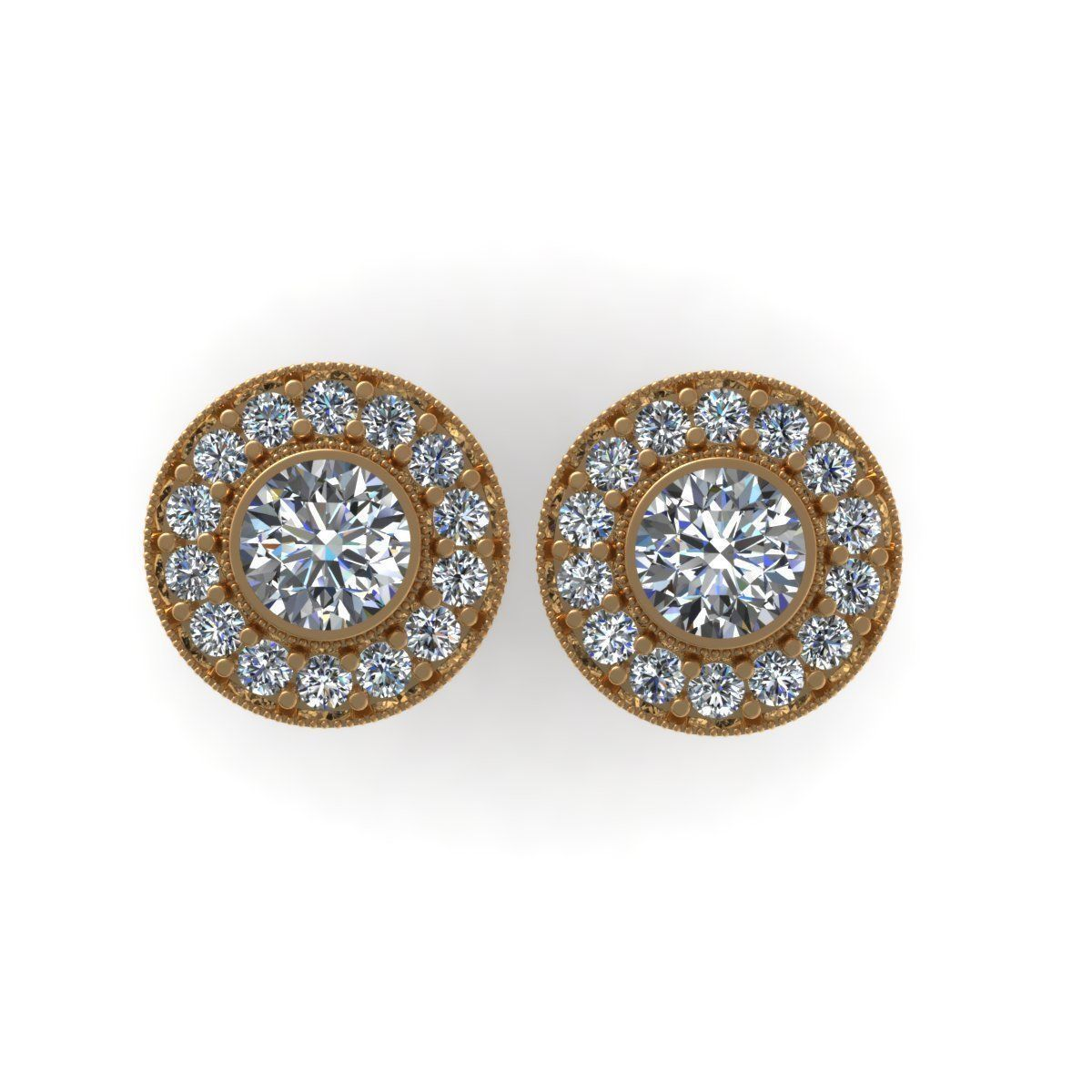 diamond earrings model - photo #17