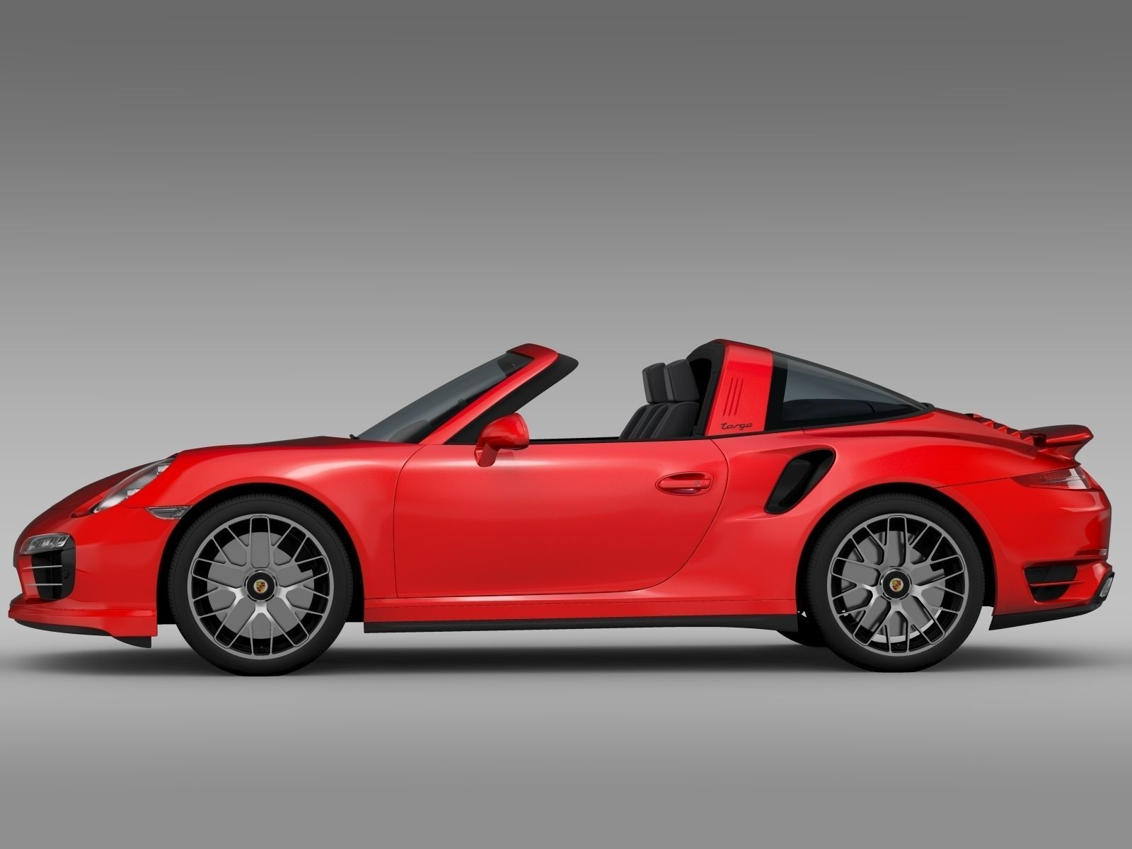 porsche 911 turbo s targa 991 2015 3d model max obj 3ds fbx c4d lwo lw lws. Black Bedroom Furniture Sets. Home Design Ideas