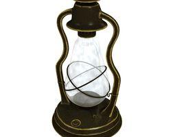 Antique Oil Lantern 3D Model