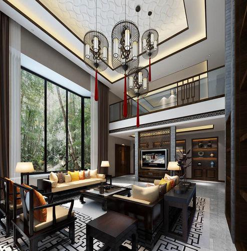 Realistic living room design 056 3d model max for Living room designs 3d model