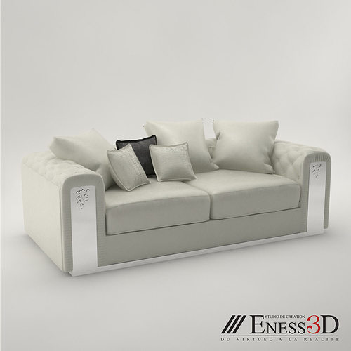 pro - sofa chester wilson visionnaire 3d model max obj mtl fbx 1