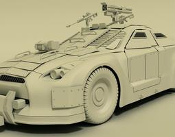 Nissan GTR  3D Model