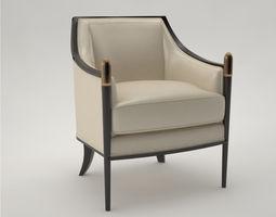 Pro - Classic Lounge Chair 460 Baker 3D