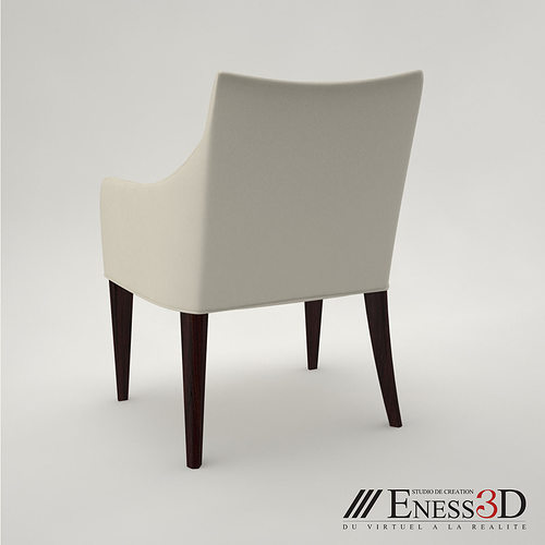Pro Breakfast Armchair Dakota Jackson 3d Model Max Obj Fbx