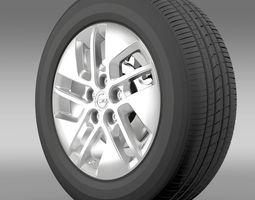 Opel Vivaro wheel 2015 3D Model