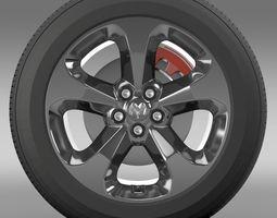 Ram Promaster City Tradesman wheel 2015 3D Model