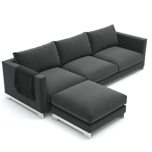 reversi sofa molteni c sofa 3d model max obj fbx. Black Bedroom Furniture Sets. Home Design Ideas