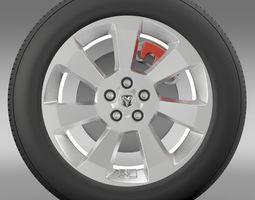 Ram Promaster City wheel 2015 3D Model