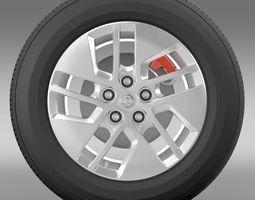 Vauxhall Vivaro wheel 2015 3D Model