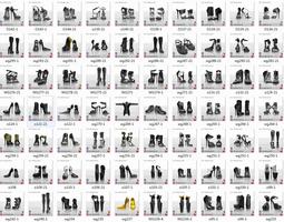 3D Fat pack of high heel models
