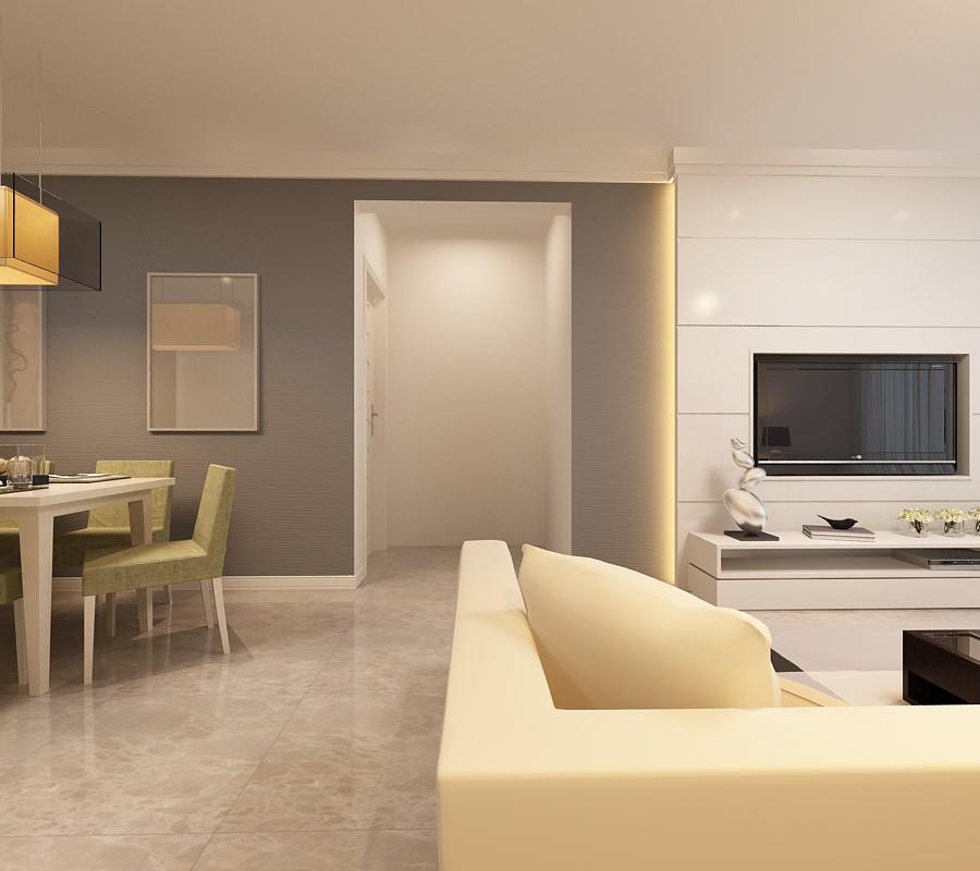 Living room yy01 3d model max for Living room 3d model