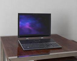 3D model laptop 08 am156