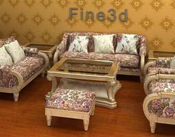 3d furniture suite 08-058