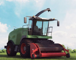 harvester 14 am 146 3d model