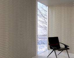 wall panel 002 AM147 3D model