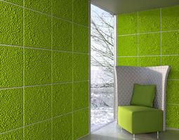 wall panel 005 am147 3d model