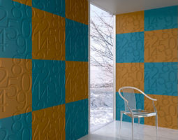 3D wall panel 084 AM147