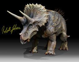 3D asset Triceratops Horridus